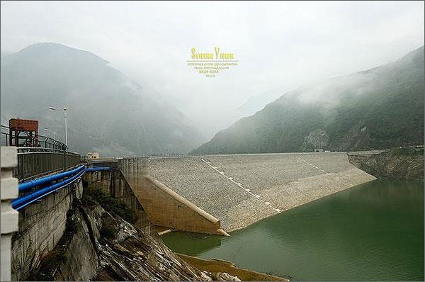 瀑布沟水电站