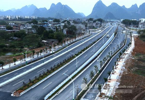 桂林西二环道路